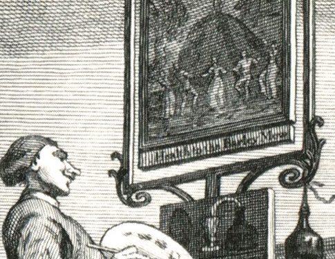Ausbrüche: William Hogarth und die Folgen II: Schildermalerei ( Alexander Roob)
