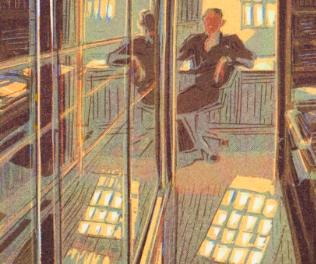 Travelling through Hotel Turgot by cuts. The Art of Wendelien Schönfeld. (by Theo de Feyter)