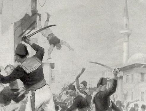 Scenes from the  Armenian Massacres of 1896 (Melton Prior, William Simpson, Charles Joseph Staniland et al.)